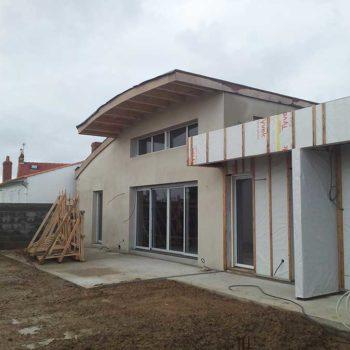 Enduit de façade en Vendée 85 ile d'olonne
