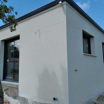 enduit de façade à peindre aux pays des olonnes en Vendée 85