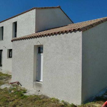 Enduit de façade maison en Vendée 85