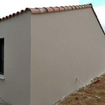 enduit de façade à l'ile d'olonne 85 en Vendée