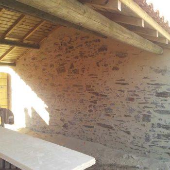 enduit de façade à l'ile d'olonne 85 pierre à vue